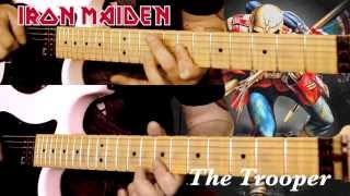 The Trooper - Classic Maiden - All Guitar Parts HD