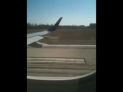 Landing at Orlando airport