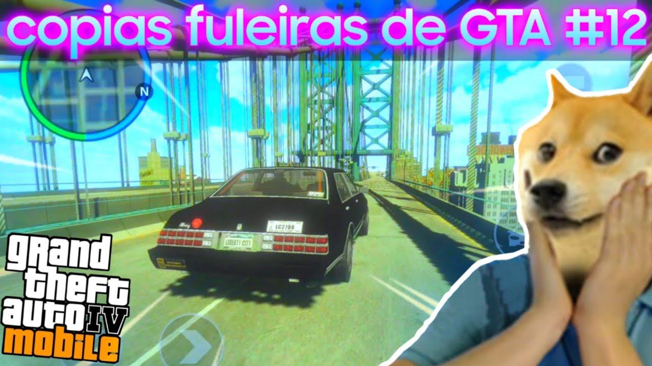 O dia que joguei GTA 4 p/ ANDROID
