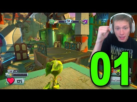 Plants vs Zombies: Garden Warfare 2 - Part 1 - Third Person Shooter!