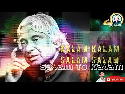 Kalam Kalam Salam Salam Song|Tribute To Kalam|Salam To Kalam
