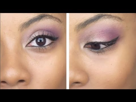 Bonus Tutorial: Purple Eyeshadow Look from the Eyeliner 101 Video