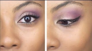 Bonus Tutorial: Purple Eyeshadow Look from the Eyeliner 101 Video Thumbnail