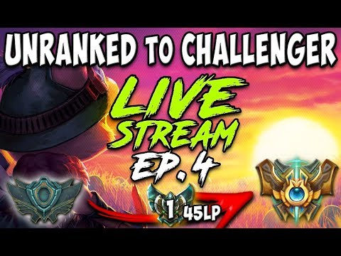 Unranked To Challenger Series S8e04 Current Rank Platinum 1 45 Lp