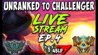 UNRANKED to CHALLENGER SERIES S8E04 | CURRENT RANK: PLATINUM 1 45 LP | League of Legends MADNESS