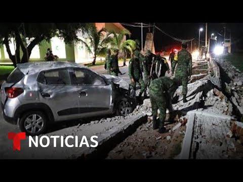 Así amanece México tras el sismo de magnitud 7.1 que cimbró a varios estados | Noticias Telemundo