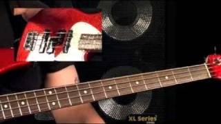 Bass Guitar Lessons - Fretboard Fitness - #2 Tritone & Wholetone Stretches - Stu Hamm