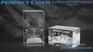 3D Crystal Laser Engraving Machine for Portrait Hand or Footprints