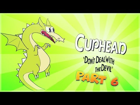 Cuphead - Pt. 6 - Annoying Tail - I GIVE UP - Comedy Gaming