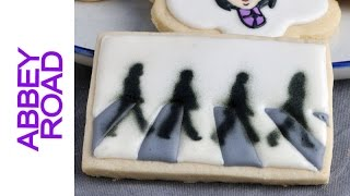 THE BEATLES ABBEY ROAD DECORATED COOKIES
