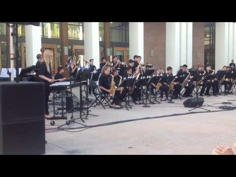 "Lindero Canyon Middle School Jazz A ""The Night has a Thousand Eyes"" 6/3/17"