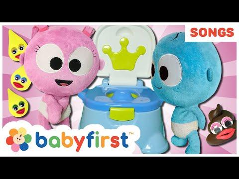 Potty Training Song w GooGoo & GaaGaa + More Nursery Rhymes Songs Compilation for Kids | BabyFirst