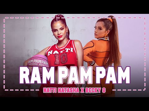 Natti Natasha x Becky G - Ram Pam Pam [Official Video]