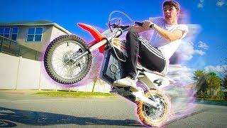 CONSEGUIMOS EMPINAR a MINI MOTO!!!