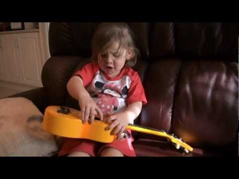 Farajaka sung by two year old Isabella - YouTube