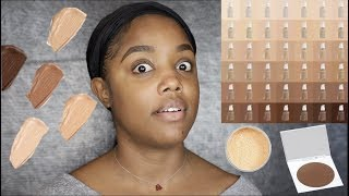 COLOURPOP NO FILTER FOUNDATION & FACE POWDER REVIEW...I CANNOT!!! | Ellarie