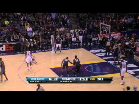 Orlando Magic Vs Memphis Grizzlies - February 22, 2013