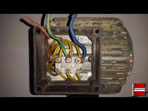 How to Wire A 3Phase Induction Motor?  YouTube