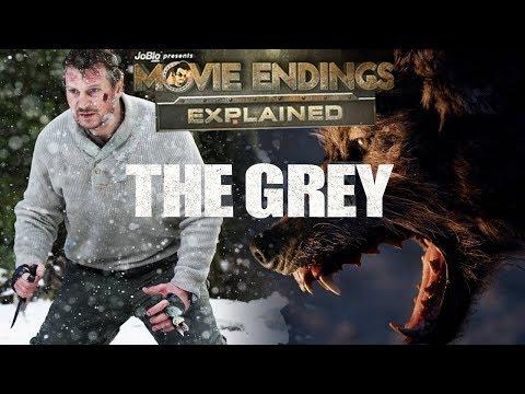THE GREY  Movie Endings Explained 2011 Joe Carnahan, Liam Neeson
