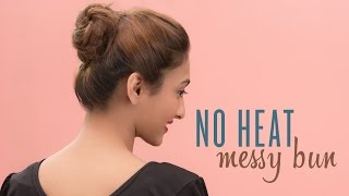 How To Deal Messy Bun | No Tools Required