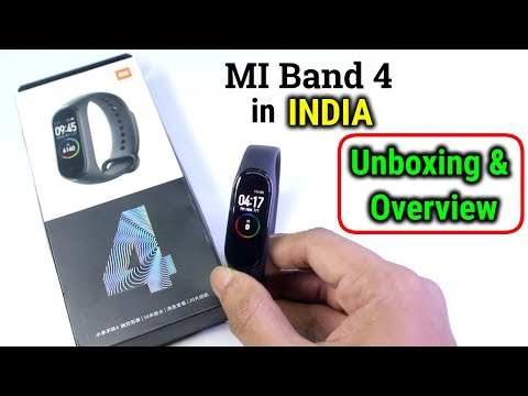 MI Band 4 in INDIA | Unboxing | Buy it in India | HINDI Review