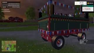 Heute stelle ich euch den Krone Partywagen V 0.1 Mod für Landwirtschafts Simulator 15