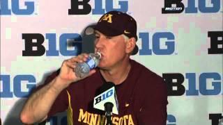Minnesota Postgame Press Conference - 2011 Big Ten Baseball Tournament