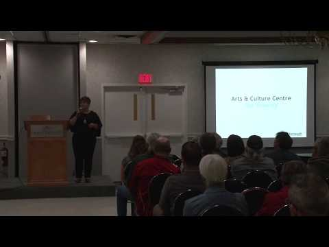 Public Presentation - Arts & Culture Centre Vision Concept