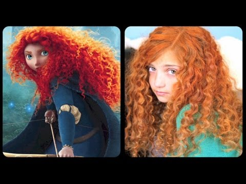 Brave Inspired Hairstyle Tutorial | A CuteGirlsHairstyles Disney Exclusive thumbnail