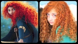Brave Inspired Hairstyle Tutorial | A CuteGirlsHairstyles Disney Exclusive