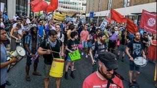 Occupy ICE Protesters Camp Outside Philadelphia Office, Despite Police Repression