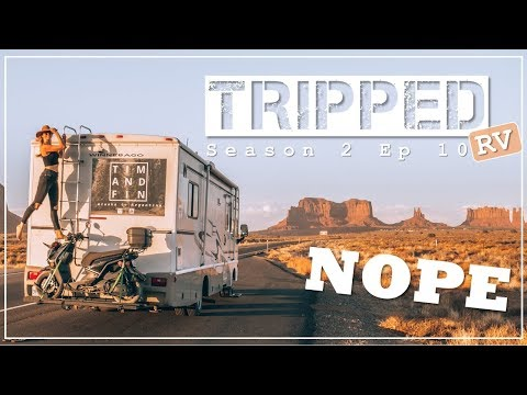 The Worst Way to Visit Monument Valley - TRIPPED S2 E10