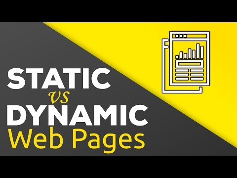 Static Vs Dynamic Websites - What's The Difference?