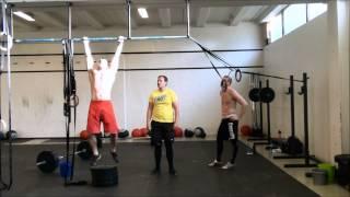 "Team Samurai WOD ""Heavy Pheezy"" - Mergim Neziraj, Jahn Espen Nakkestad & Vidar Østerberg @ CFK"