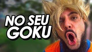 EU VOU BOTAR NO SEU GOKU VERSÃO METAL Melot do DragonBall