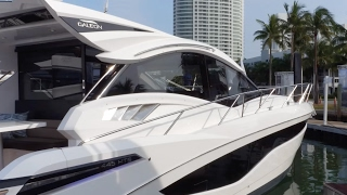 Exclusive Look at the Galeon 445 HTS at Yachts Miami Beach