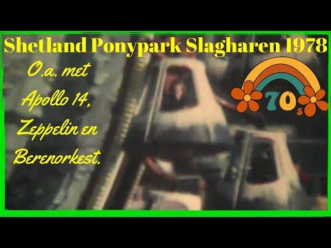 Ponypark Slagharen 1978 Super 8 film - Nostalgische beelden van toen...