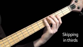 Learn Bass Lesson 16 - Major Scale exercises to use in your daily practice routine