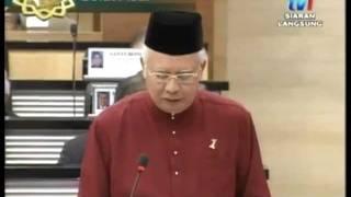 Bajet 2012 Malaysia Part 1 of 8 Pembentangan Datuk Najib