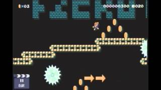 Super Mario Maker :Distance - Broken Symmetry