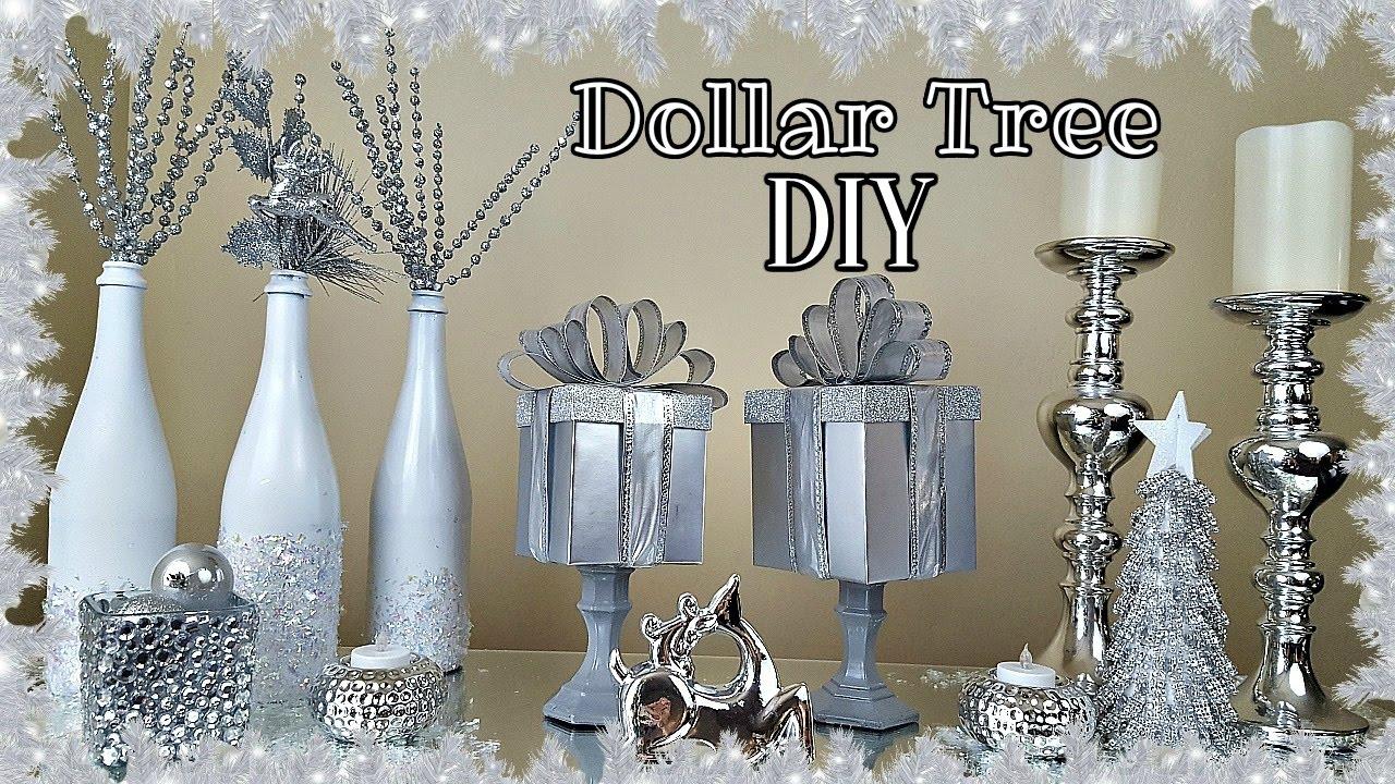 Diy Dollar Tree Gift Box Christmas Home Decor Craft Youtube