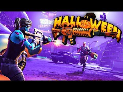 Crazy Winstreak New Halloween Update Fortnite Battle