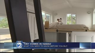 Can Hawaii residents buy into growing 'tiny home' trend?