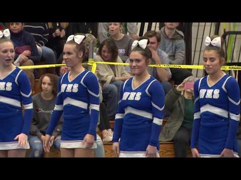 Waterford High School at 2019 ECC Cheerleading Championship