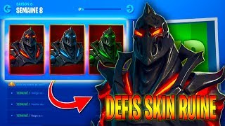 "▶️GO DEBLOQUER THE LEGENDARY SKIN ""RUIN""😀 DEFIS WOCHE 8 - ✔️LIVE FORTNITE"