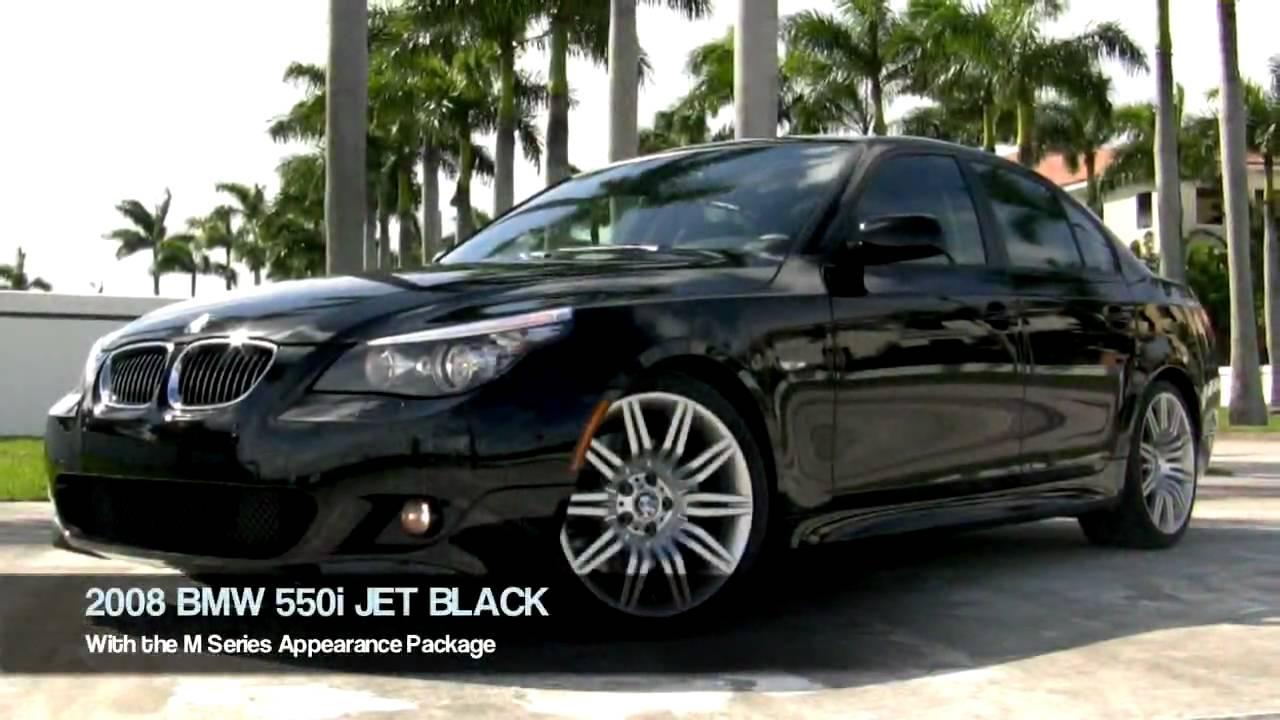 2008 Bmw 550i Jet Black A2532 Youtube