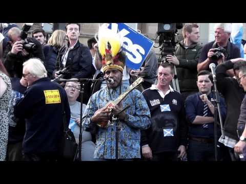 Benny Wenda from West Papua on Scottish Independence