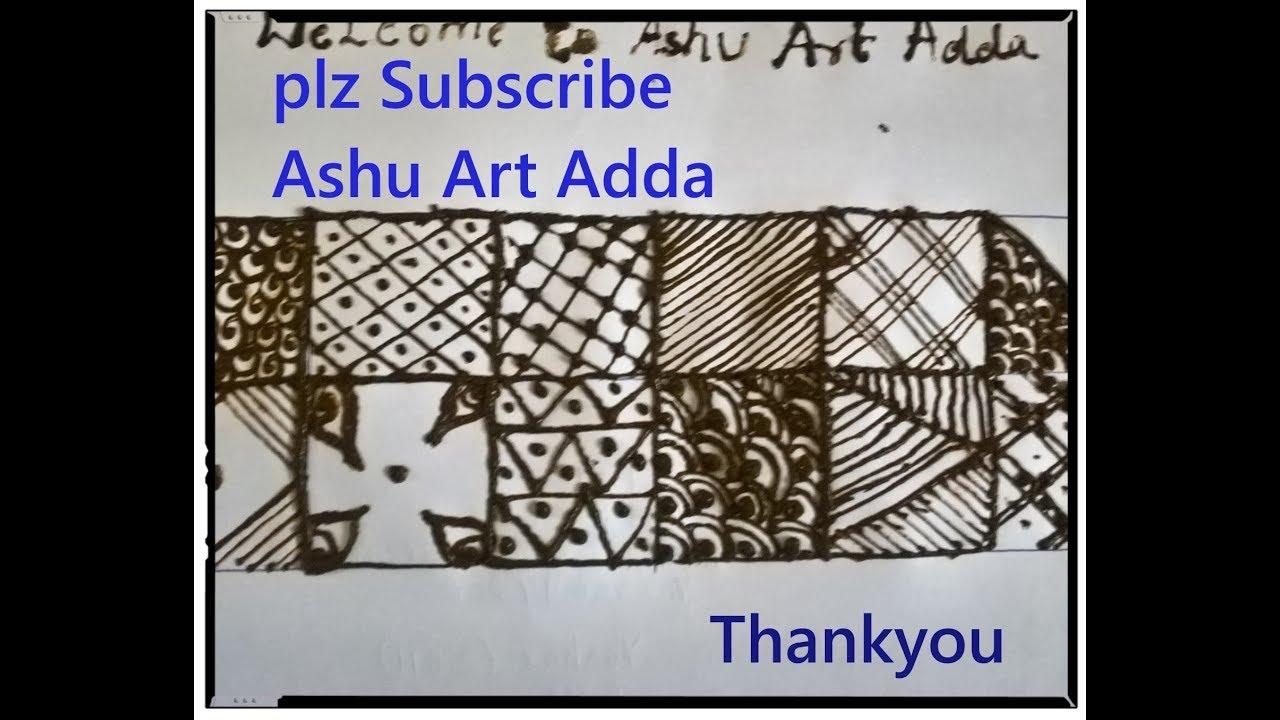 basics mehndi design classes1 for beginners in kannada