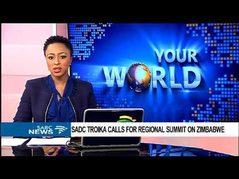 SADC sends week message to Zimbabwe: Derek Matyszak(ISS)