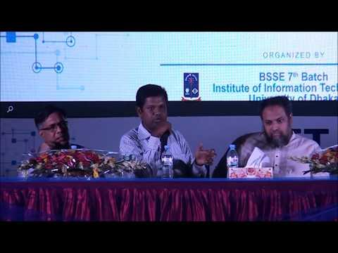 Speech of Raisul Kabir, CEO of Brain Station-23 | IIT, DU Industry Academia Collaboration 2017